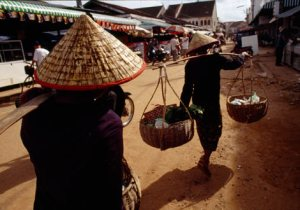 Going to the market...