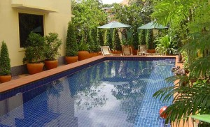 Lovely pool at Manor House