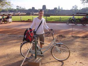 Riding my bike around history...