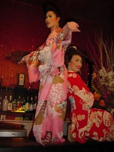 Drag performance... Asian style...