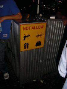 No handbags in 2009 !