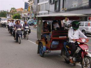 Street life in Phnom Penh...