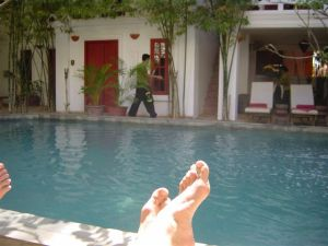 Siem Reap bliss by the pool...