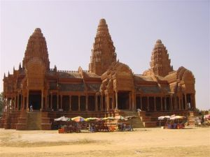 King Shihanouk's temple in Phnom Reap