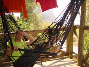 Hanging in my hammack...