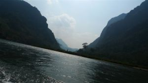 The Nam Ou river - all to ourselves...