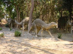 Dinosaurs in the Lao Ethnic park ???