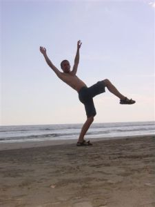 Yoohoo - we found the beach!