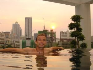 iResidence rooftop swimming pool