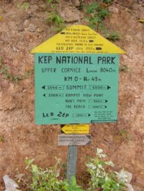 Kep National Park route