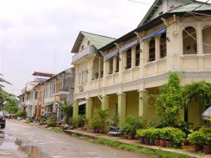 Kampot town - South Cambodia
