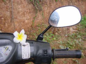 Crashing a Motorbike