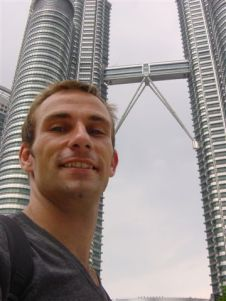 Me and Petronas in KL