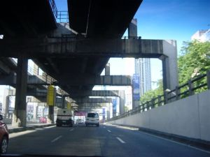 Flyovers, underpasses, skytrains, etc