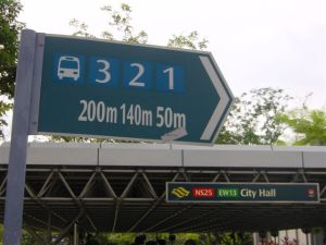 Bus and Metro numbers at City Hall
