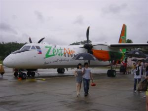 Zest Air - in the rainy season...