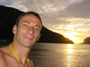 Another sizzling sunset - El Nido