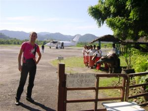 Welcome to El Nido Air-Pasture, euh Airport