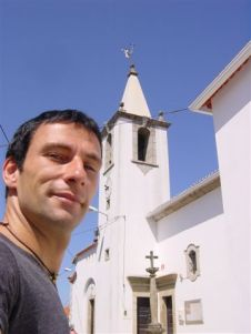 Local church, local village, un-local guy