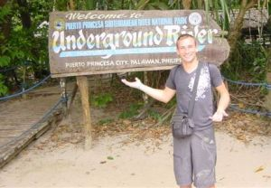 Did I tell you I went to the underground river?