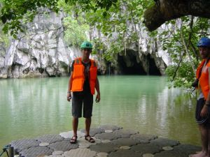 That's where the worlds longest underground river ends