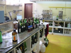 The wine lab for testing the wine