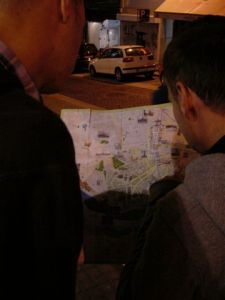 Map reading - again