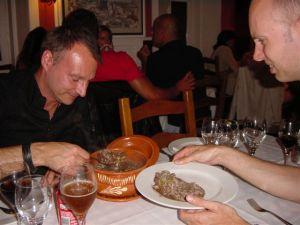 Portuguese food - chicken & rice in vinegar -beurk