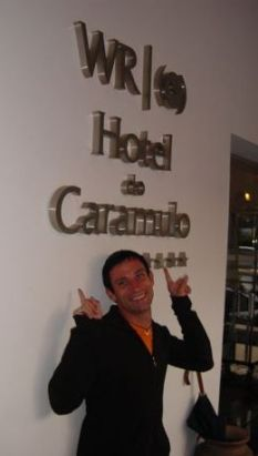 We found a hotel in the Caramulo