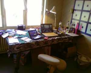 My new old office - with slow internet - huray
