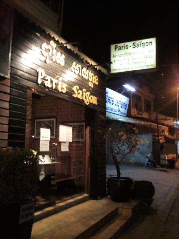 restaurant Paris-Saigon in Siem Reap